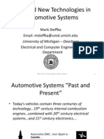 EMC and New Techologies in Automotive Systems