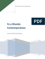 Fe y Mundo Conteomporaneo