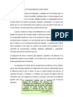 La Evaluacion Hacia Un Proceso de Trans for Mac Ion