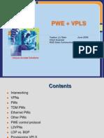 PWE+VPLS