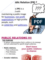 Pr in Banking