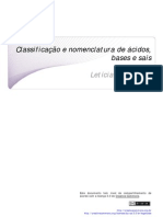 SL Classificacao e Nomenclatura de Acidos Bases e Sais