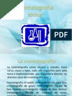 Cromatografia Por Traspaso de Iones