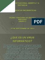 Diapositivas de Virus Informatico