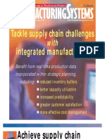Tackle Supply Chain Challenges With Integrated Manufacturing