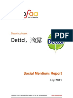 Sample Report Dettol 07-18-2011