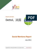 Sample Report Dettol 07-18-2011