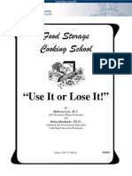 Food Storage Cooking School 503