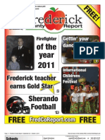 Frederick County Report 9/28/2011