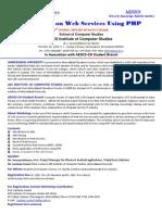 AESICS-CSI-Seminar-Web Services Using PHP-1st OCT 2011