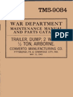 TM 5-9084 - Converto Dumping Trailer