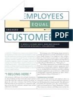 Engaged Employees=Engaged Customers