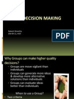 Presentation Group Decision Making Short One