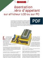 Affichage Du CLI Sur LCD Ou Sur PC