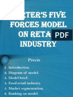 Porter's Five Forces Model On Retail Industry