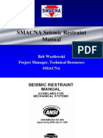 SMACNA Seismic Restraint Manual