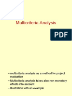 Multi Criteria Analysis Engels