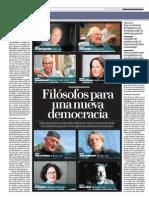 Filósofos para una nueva democracia