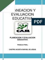 Planeacion y Evaluacion Educativa