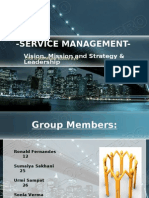 Service Management Ssm Ppt