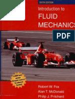 Fox Fluid Mechanics