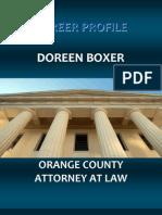Doreen Boxer - Orange County Attorney at Law