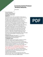 A Hybrid Medium Access Control Protocol