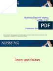 2167 Power and Politics