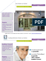 Audition Conseil Chalon sur Saone - Audioprothesiste Chalon sur Saone