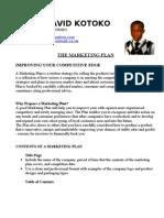 Kotoko Peter David Marketing Template1