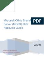 3681.MOSS 2007 Resource Guide