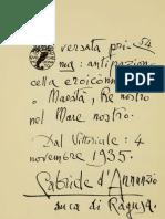 Alla Maestà di Vittorio emanuele III Re d'Italia.