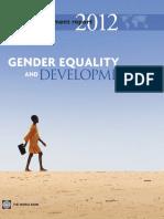 World Development Report 2012