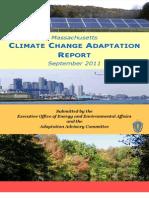 Massachusetts Climate Change Adaptation Report