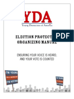 You ng Democrats of America Chapter Election Protection Guide 2008