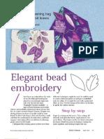 BP2 Bolsa Elegant Bead Embroidery