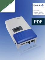 Kaco Datasheet 10-14tl3 en 110803