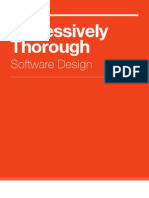 Obsessively Thorough Software Design Preview