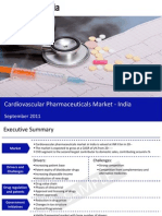 Market Research Report :Cardiovascular Pharmaceuticals Market in India 2011