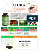 NatureBorn Multi-Vitamin Flyer