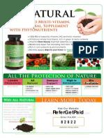 NatureBorn Multi-Vitamin Flyer