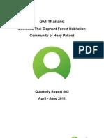 GVI Thai Elephants Q Report 112