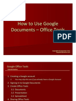 Jing Valdez How to Use Google Docs Office Tools