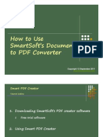Jing Valdez How to Use SmartSoft Document to PDF Converter