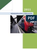 """Administracion y educacion """"Resumen"""""""