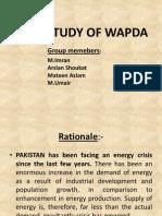 Case Study of Wapda