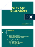 Jing Valdez How to Use Time and Date