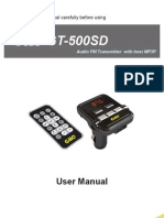 15 GT 500SD User Manual En