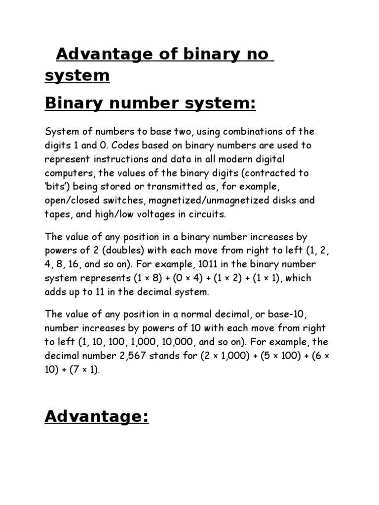 Synopsis of DE 202 | Bit | Arithmetic
