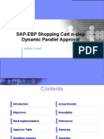 EBP Shopping Cart Approvals